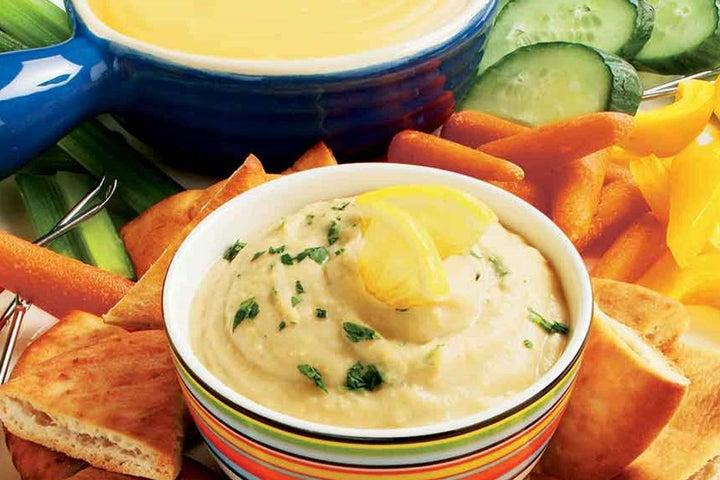 Hurray for Hummus Pita Spread
