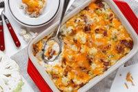 Keto Cauliflower Cheese Casserole Recipe