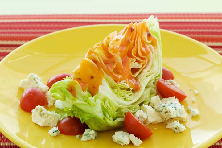 Lettuce-Wedge Salad with Bacon Ranch
