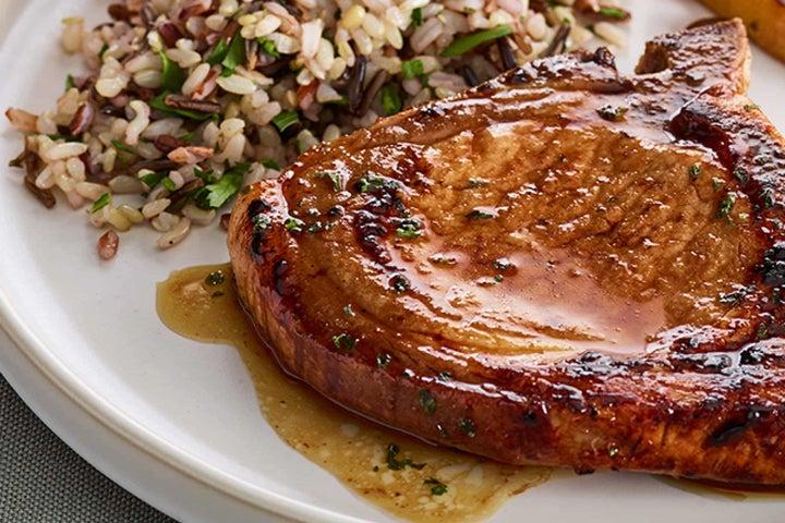 Maple Ranch Pork Chops