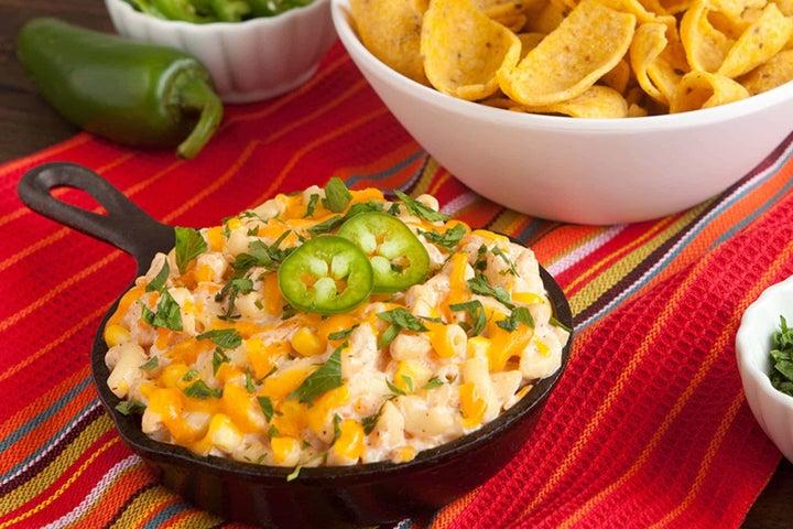 Mexican Mac & Cheese Dip