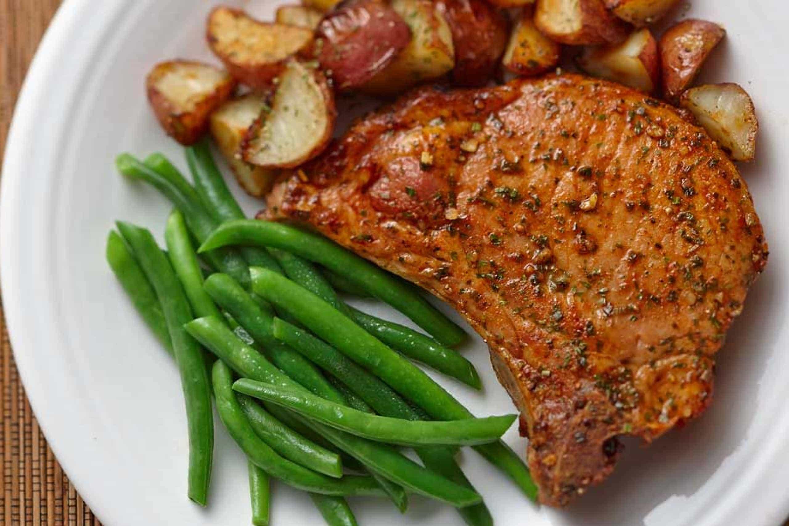 pork chop recipe hidden valley ranch Original Ranch® Pork Chops