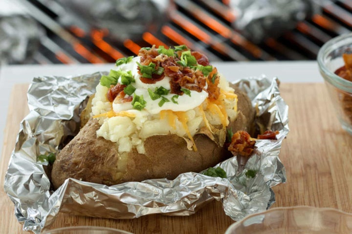 Overstuffed Barbecue Potato
