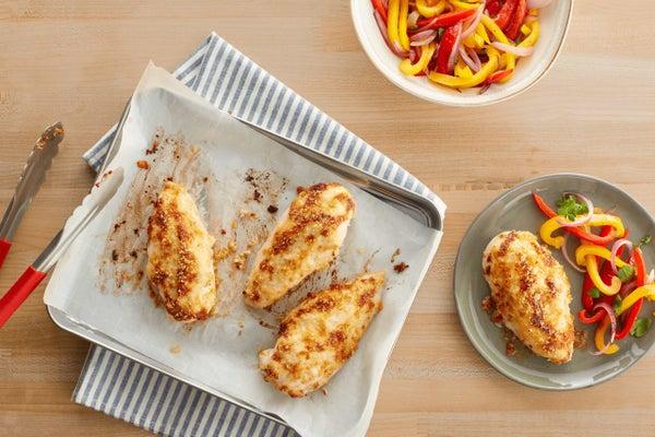 Parmesan Crusted Ranch Mayo Chicken