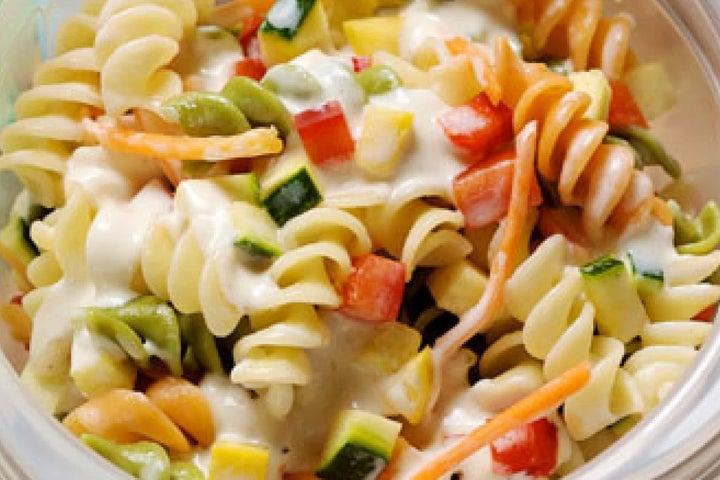Pasta Salad Veggie-Ranch Toss Ups