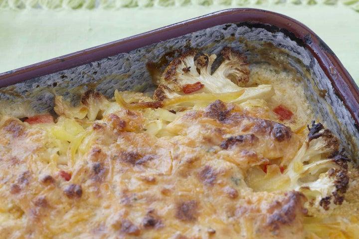 Potato & Cauliflower Bake