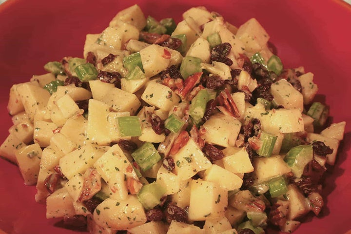 Quick and Easy Crunchy Apple Salad
