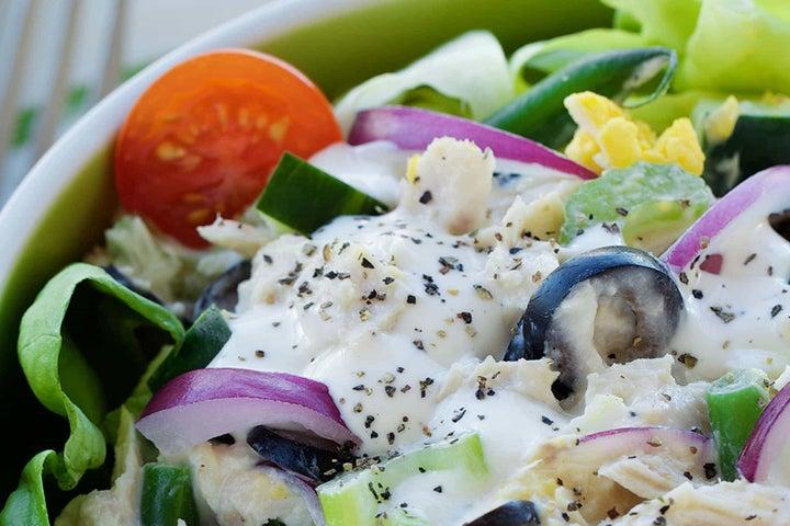 Albacore Tuna and Vegetable Salad