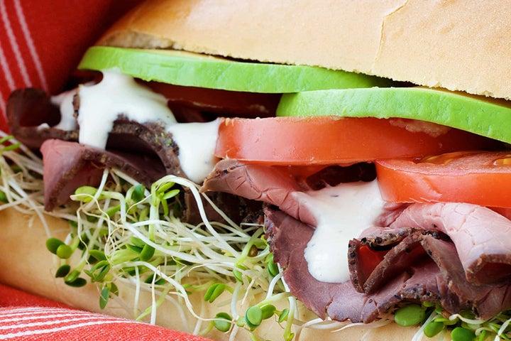 Ranch Beef Sandwiches