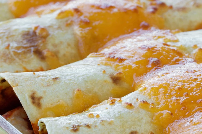 Ranch & Chile Chicken Enchiladas