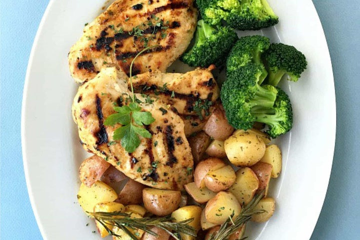 Ranch Grilled Chicken with Baby Red Potatoes