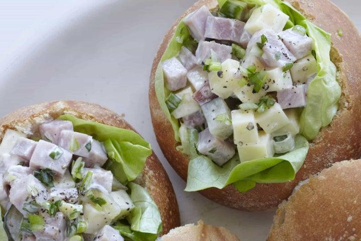 Ham Salad Bread Bowls