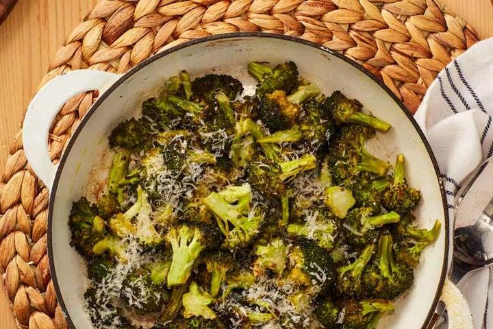 Ranch Parmesan Broccoli