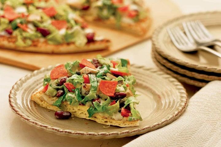 Pizza Wedge Salad