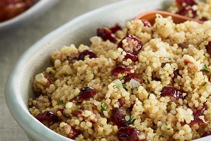 Ranch Quinoa with Cranberries