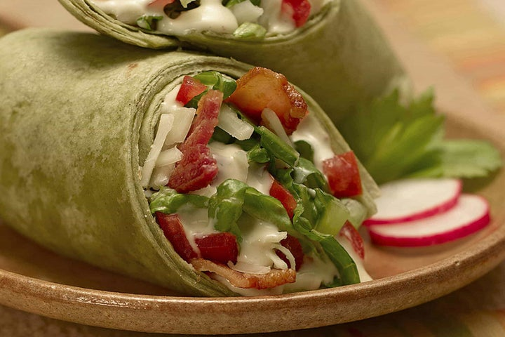 Salad in a Wrap