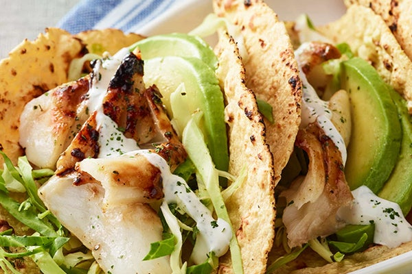 Ranch-Spiced Fish Tacos