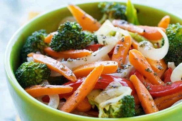 Ranch Stir-Fried Carrots and Garden Vegetables