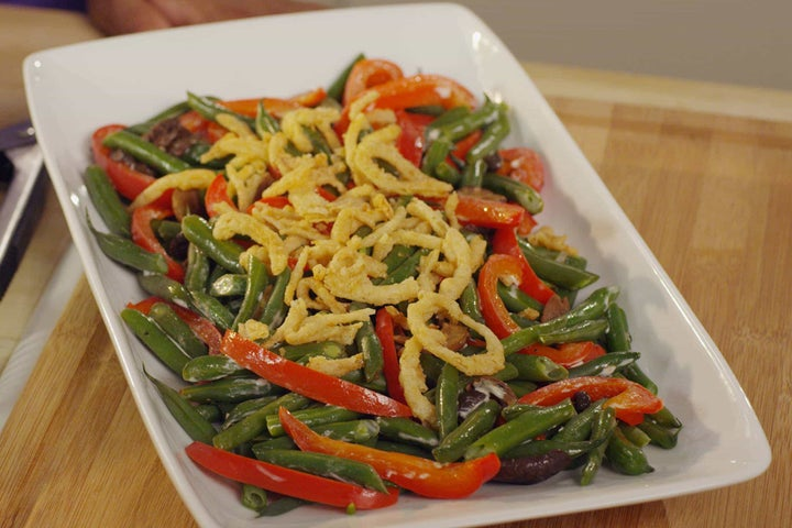 String Bean Casserole Salad