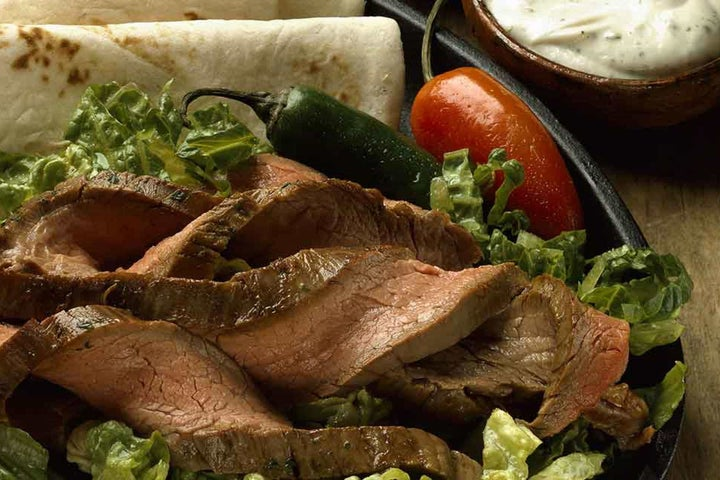 Ranch Style Steak Fajitas