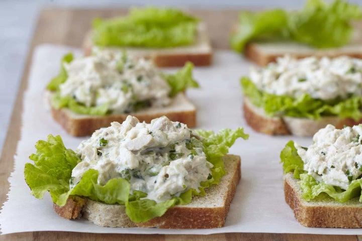 Tune Up Tuna Sandwich