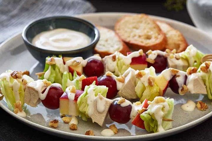 """Waldorf"" Salad-on-a-Stick"