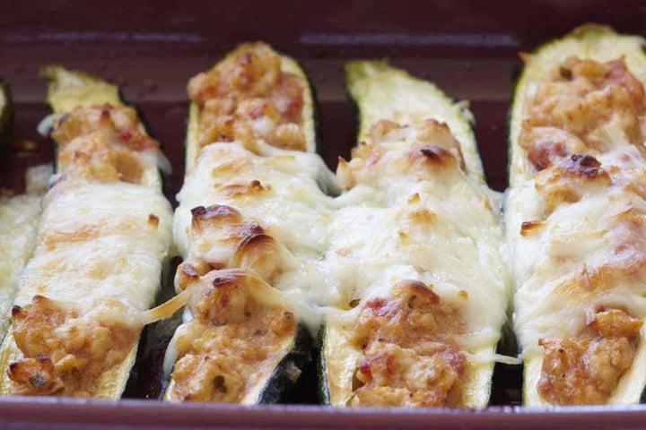 Zucchini Dinghies