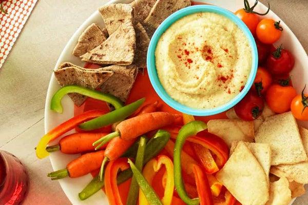 Ranched-Up Hummus Dip