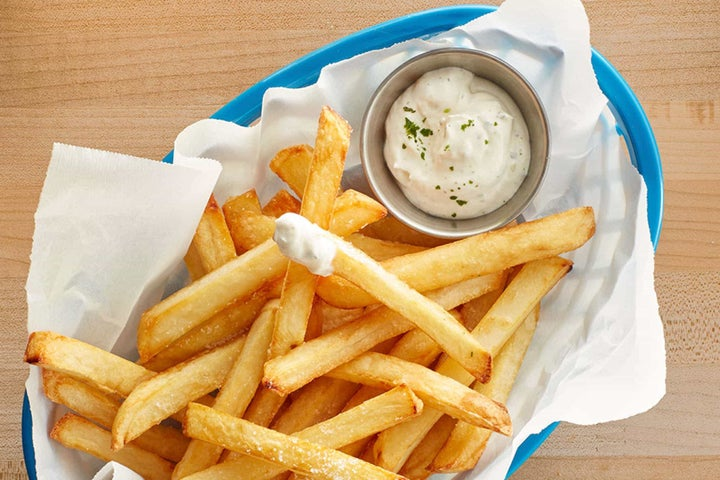 Restaurant Style French Fries with Buttermilk Ranch
