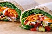 Roasted Veggie Wrap Recipe