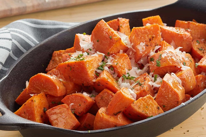 Savory Oven Roasted Sweet Potatoes