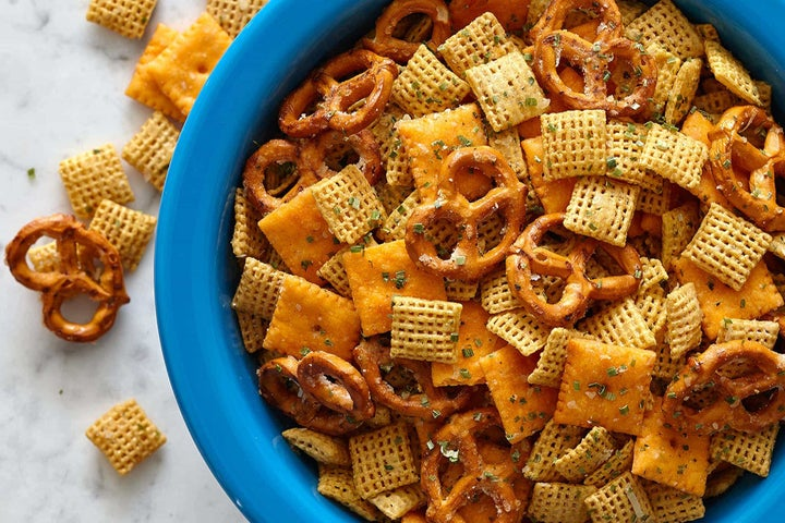Savory Ranch Party Mix