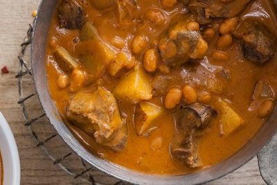 Slow Cooker Ranch Beef & Bean Stew