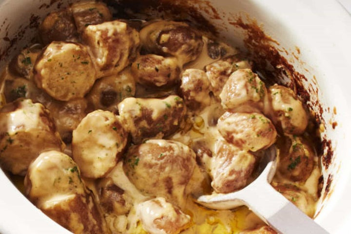 Slow Cooker Cheesy Ranch Potatoes