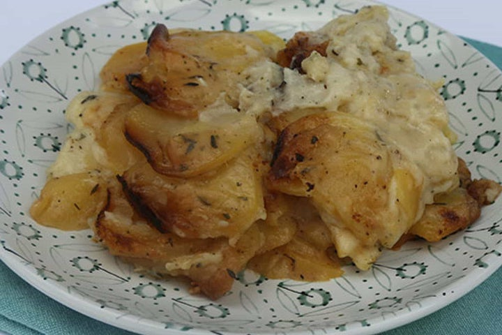 Ranch Potato Galette in a Slow Cooker