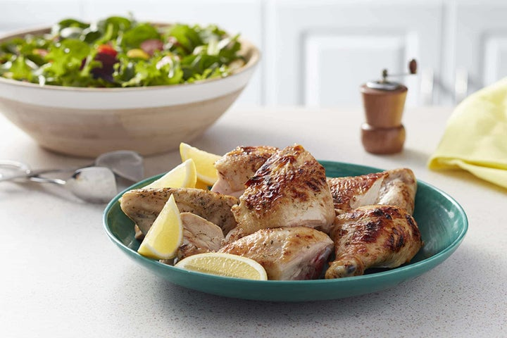 Slow-Cooker Ranch-Rubbed Whole Chicken