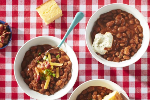 Slow Cooker Ranch Style Beans