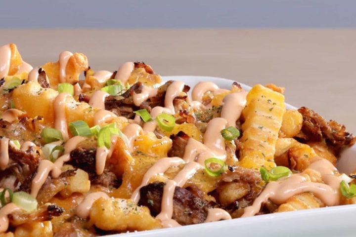 Smoky Pulled Pork Loaded  Fries