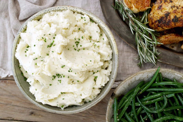 Sour Cream and Ranch Mashed Potatoes