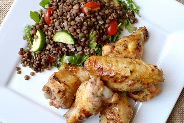 Spicy Chicken Wingettes