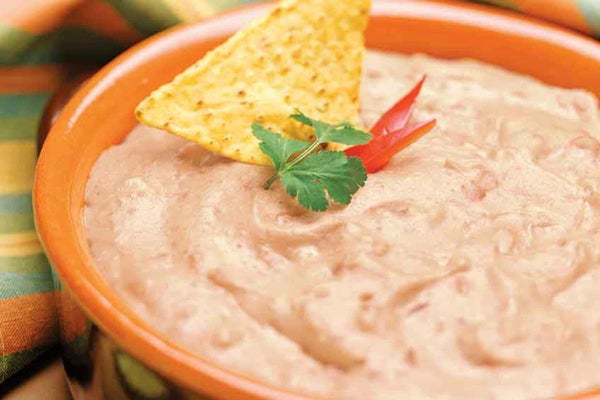 Spicy Ranch Cream Frijoles Dip