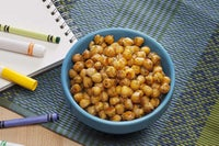 Spicy Ranch Roasted Chickpeas Recipe