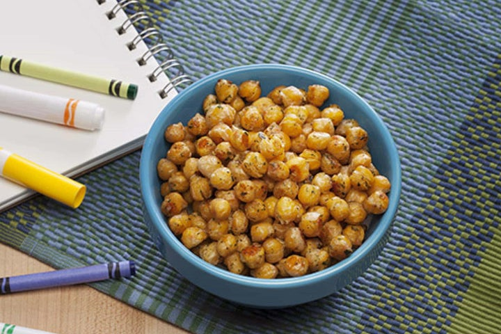 Spicy Ranch Roasted Chickpeas