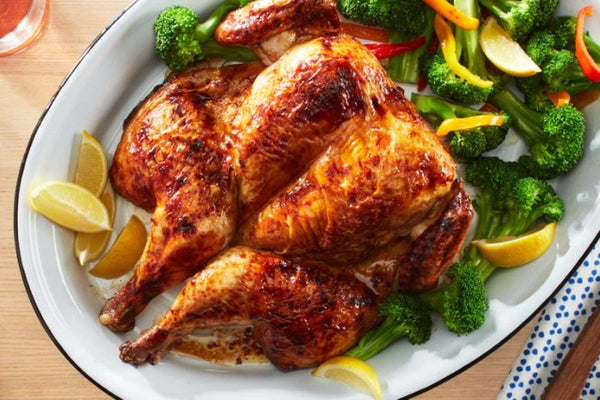 Spicy Ranch Spatchcocked Chicken