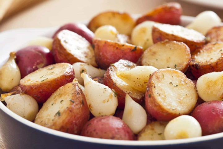 Sunny's Roasted Ranch Potatoes and Onions