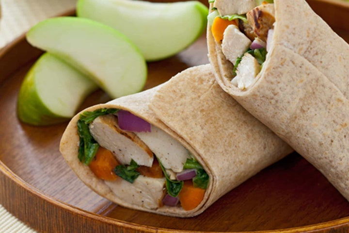 Sunny's Spicy Ranch Grilled Chicken Salad Wrap