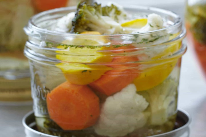 Sweet & Tangy Marinated Vegetables