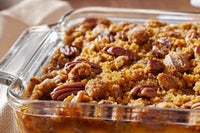Sweet Potato Casserole with Crunchy Pecan Topping Recipe