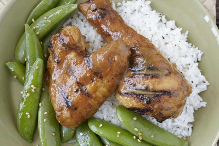 Thai Marinated Ranch Grilled Chicken