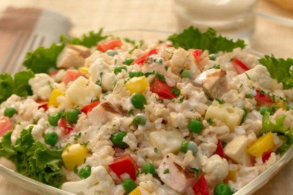 Turkey, Cauliflower & Brown Rice Salad